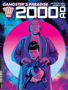 Обложка журнала 2000 ad #2156