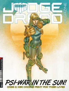 Обложка журнала judge dredd megazine #414