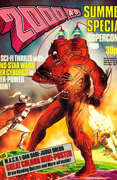 Обложка журнала 2000AD Summer Special 1977