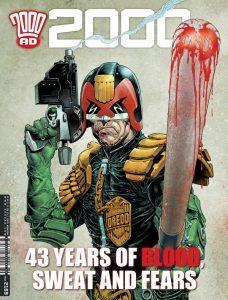 Обложка журнала 2000 ad #2169