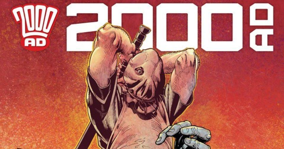 Обложка журнала 2000 ad #2173