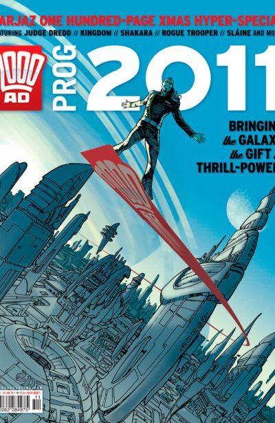 Обложка журнала 2000 ad prog 2011 (2010 Christmass Special)