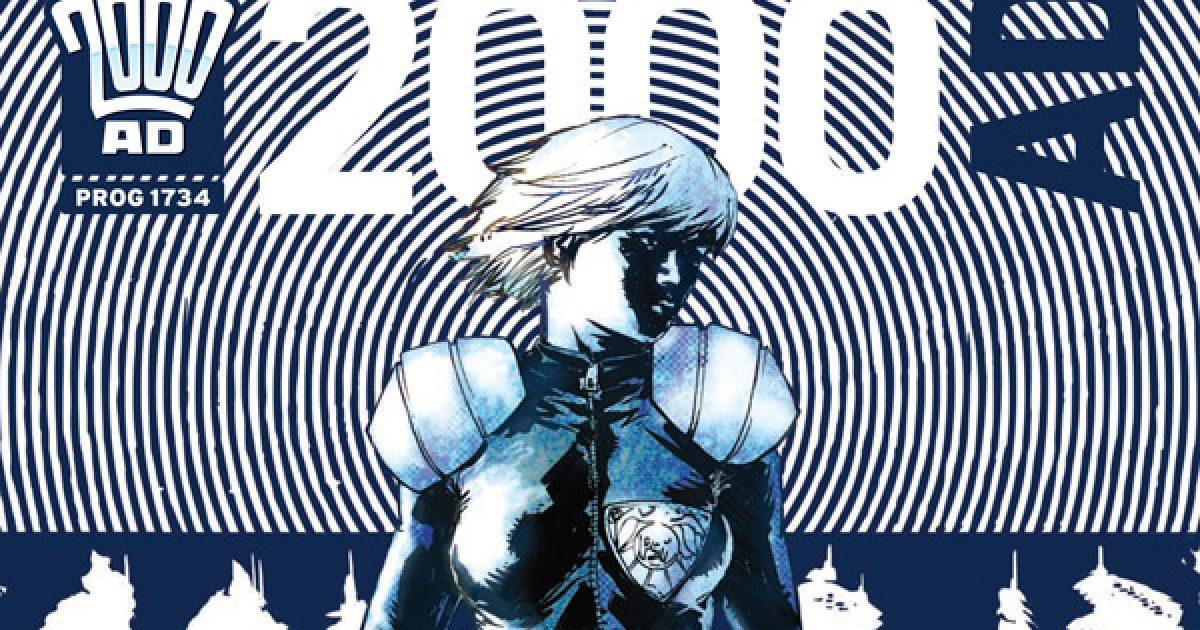 Обложка журнала 2000 ad #1734