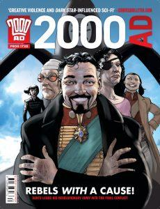 Обложка журнала 2000 ad #1735