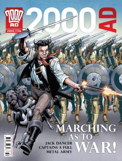 Обложка журнала 2000 ad #1736