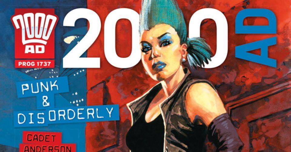 Обложка журнала 2000 ad #1737