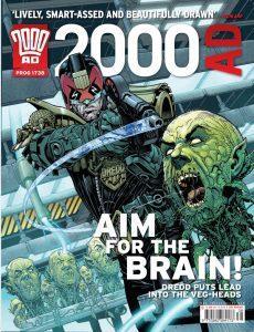 Обложка журнала 2000 ad #1738