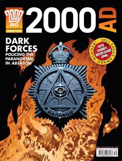 Обложка журнала 2000 ad #1739