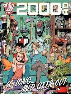 Обложка журнала 2000 ad #2182