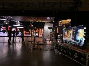 Виртуальное кинопроизводство на Rebellion Studios — тест систем 3