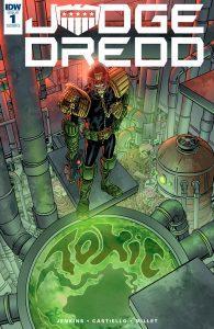 Обложка комикса Судья Дредд: Токсично! 01 (IDW)