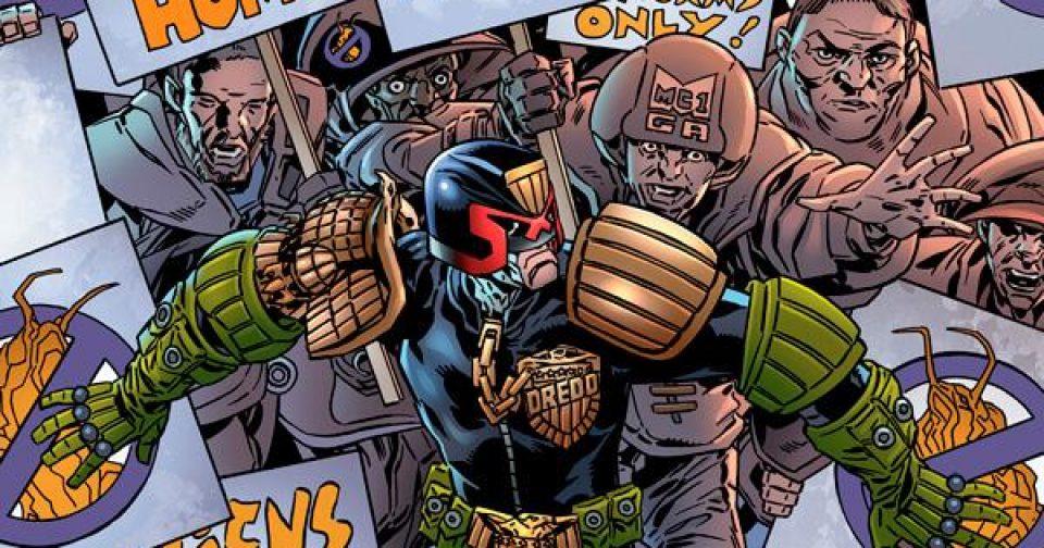Обложка комикса Судья Дредд: Токсично! 02 (IDW)