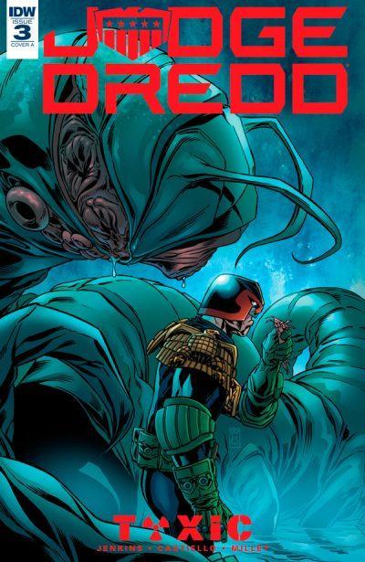 Обложка комикса Судья Дредд: Токсично! 03 (IDW)