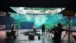 Виртуальное кинопроизводство на Rebellion Studios — тест систем 2