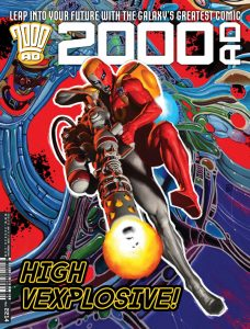 Обложка журнала 2000 ad #2214