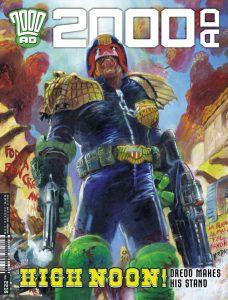 Обложка журнала 2000 ad #2216