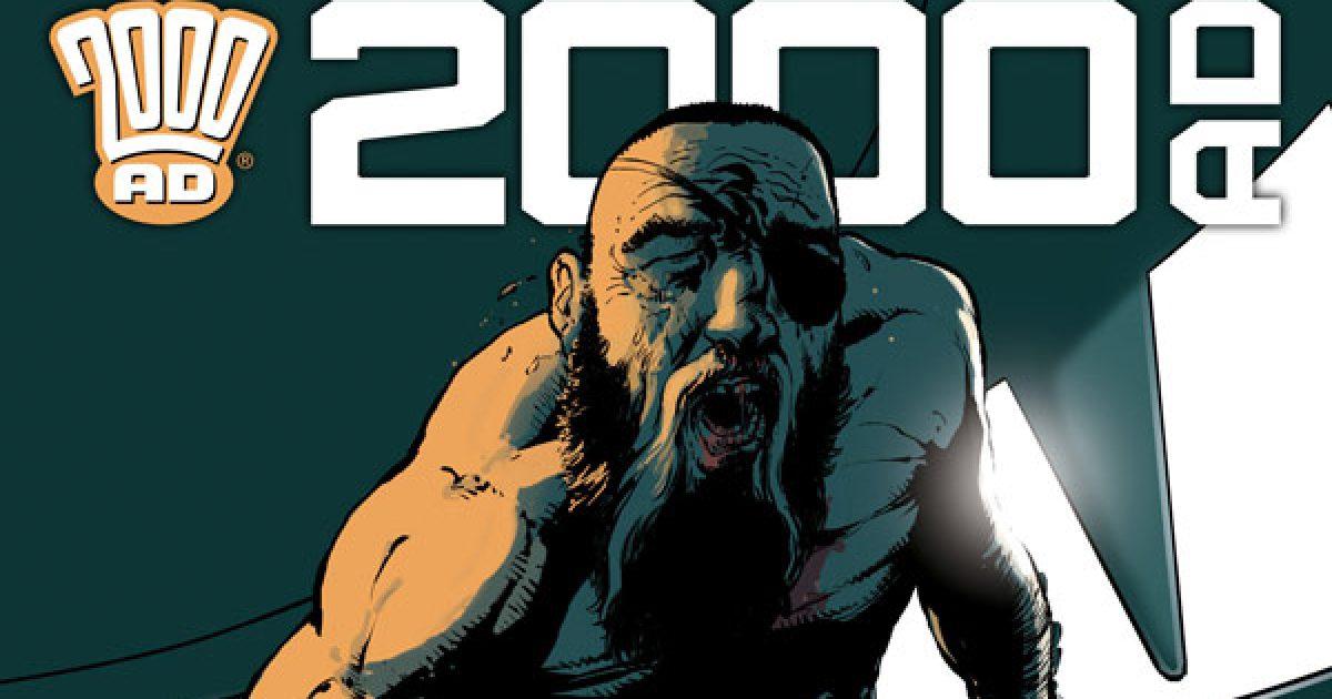 Обложка журнала 2000 ad #2218