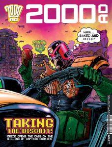Обложка журнала 2000 ad #2221
