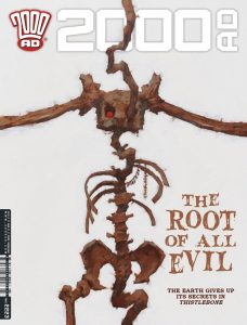 Обложка журнала 2000 ad #2223